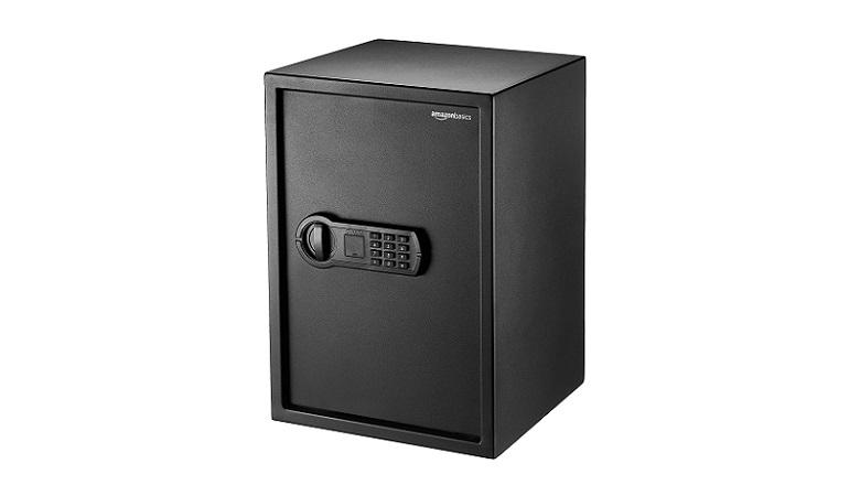 Amazon Basics Steel Home Security Safe
