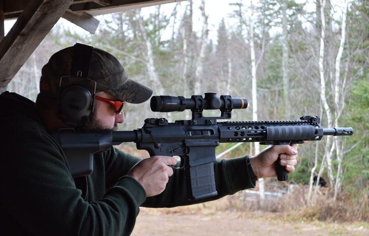 Pump Action Rifle