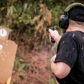 practice gun shooting for self defense
